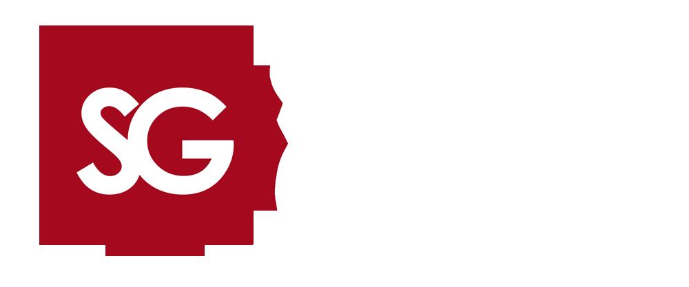 Søgne Grafiske logo. Design og kommunikasjon gjort enkelt